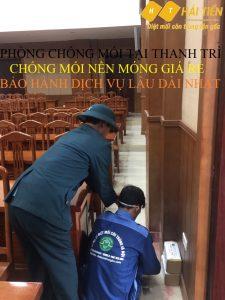 PHÒNG CHỐNG MỐI TẠI THANH TRÌ